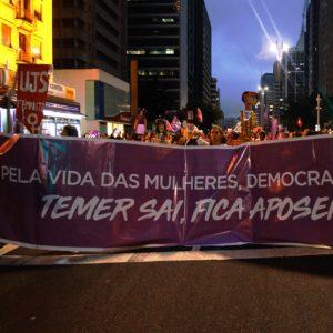 O Portal Disparada realizou cobertura fotográfica e acompanhou o Ato unificado pelo Dia Internacional das Mulheres em São Paulo - SP, nesta quinta (08) de março.