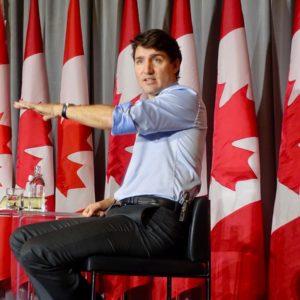 A carta foi enviada ao atual Primeiro-ministro do Canadá, Justin Trudeau