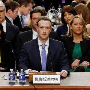 Mark Zuckerberg presta depoimento no Congresso dos EUA