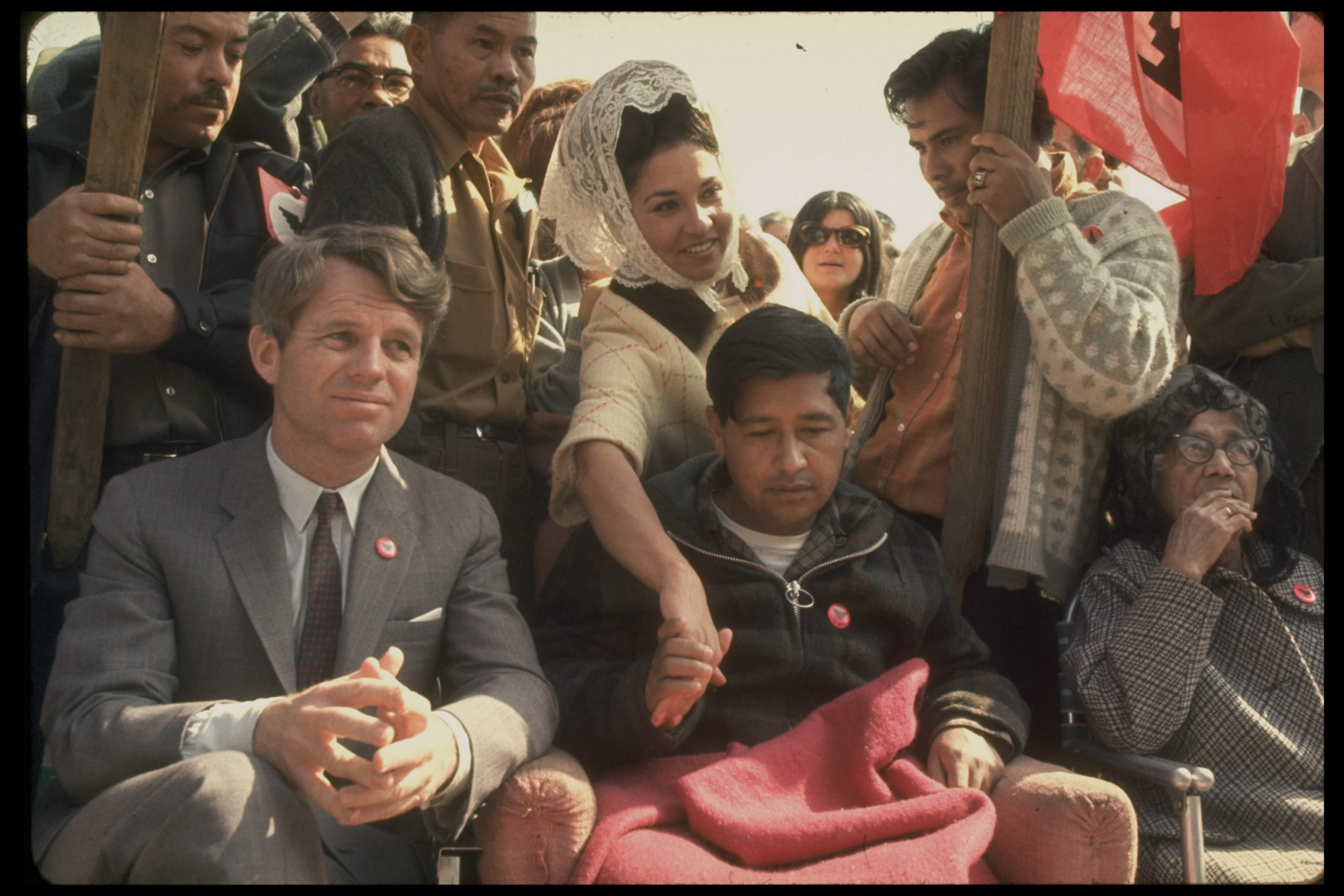 How labor activist Cesar Chavez went on a hunger strike and turned Bobby Kennedy into a fan