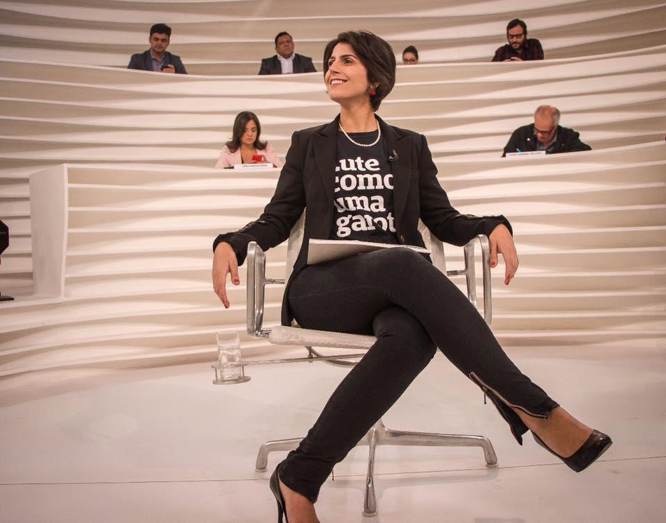 Manuela D'avila no roda viva