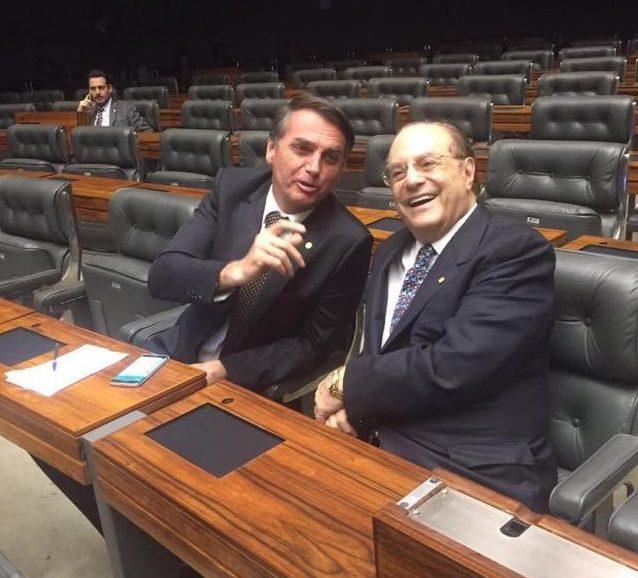 Jair Bolsonaro e Paulo Maluf