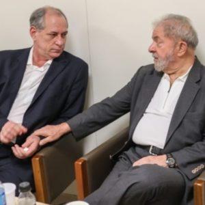 Lula e Ciro Gomes, esquerda brasileira