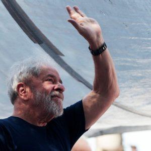 Lula um dia antes de sua prisão. REUTERS/Leonardo Benassatto