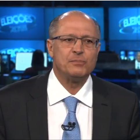 Geraldo Alckmin no Jornal Nacional, em entrevista em 29/08/2018