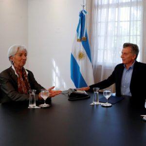 mauricio macri christine Lagarde fmi argentina