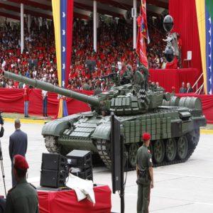 venezuela tanques de guerra maduro brasil bolsonaro