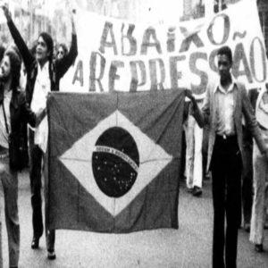 ditadura democracia projeto nacional brasil bandeira nacional