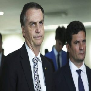 bolsonaro e sergio moro. The Intercept