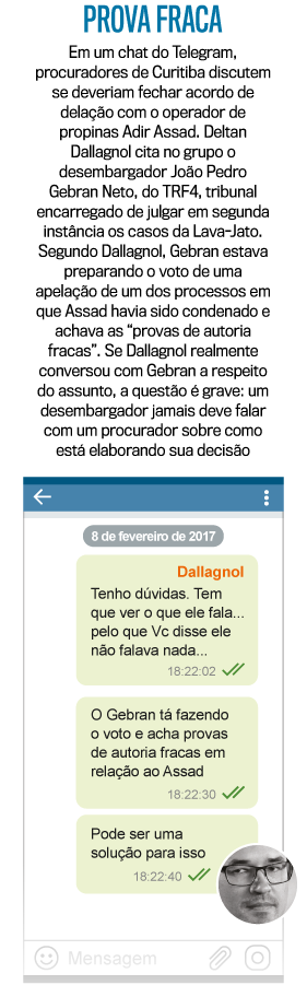 """VAZA-JATO: Dallagnol diz que teve """"encontros fortuitos"""" com Gebran, desembargador do TRF-4"""