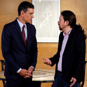 psoe podemos espanha parlamento primeiro ministro pablo iglesias
