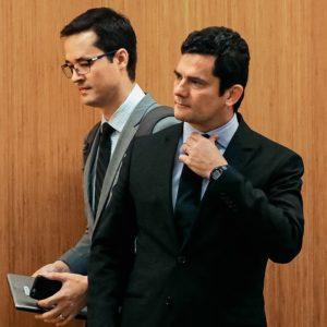 Sérgio Moro e Deltan Dallagnol vaza jato