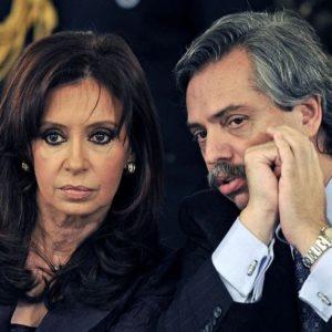 cristina kirchner e alberto fernandez Sorrias por mim Argentina
