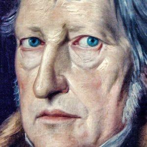 """Hegel, na análise dos processos históricos, era bem mais """"materialista"""" que vários contemporâneos e pensadores posteriores. Para Losurdo, Hegel, ao contrário de nomes como Alexis de Tocqueville, ao estudar os caminhos diferentes da Revolução Americana e Francesa"""