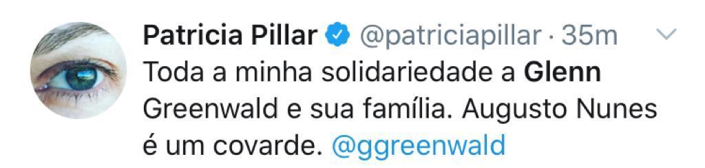 Augusto Nunes agride fisicamente Glenn Greenwald 2