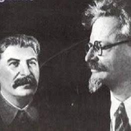 Stalin e Trotsky China