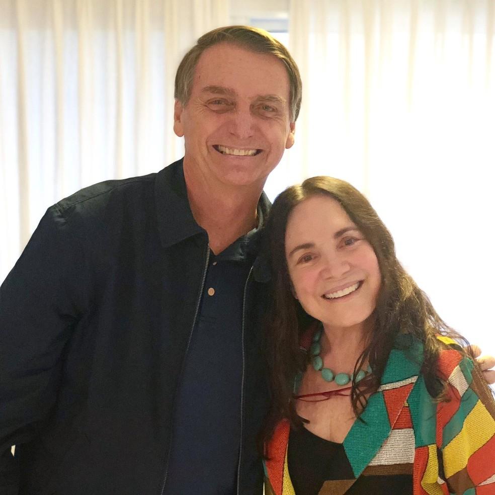 O que esperar de Regina Duarte e Bolsonaro?