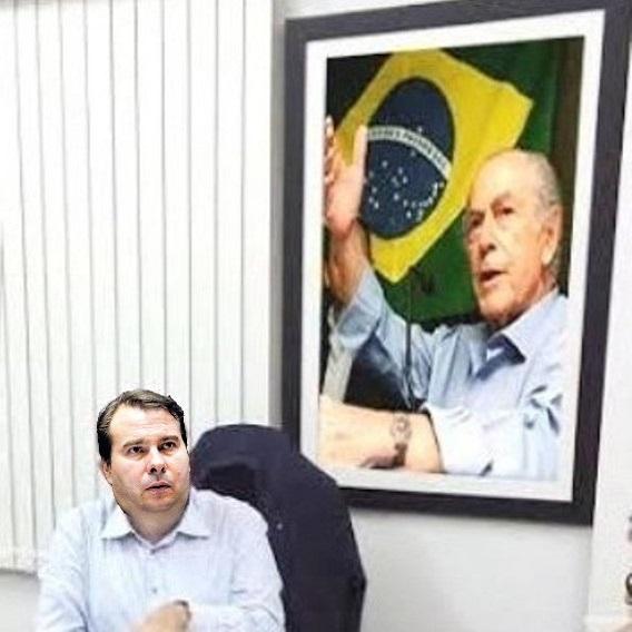 rodrigo maia e o quadro do brizola ciro gomes ciro 2022