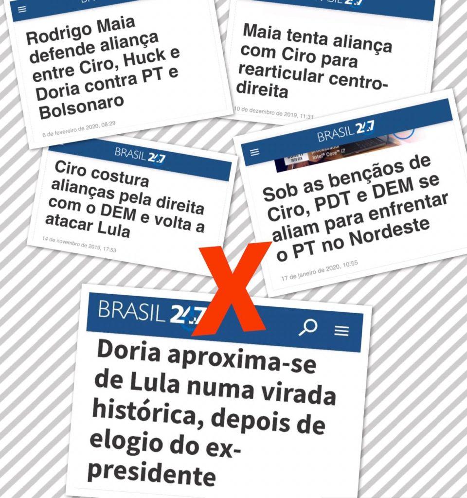 Lula acena para Doria para tentar sair do isolamento 2