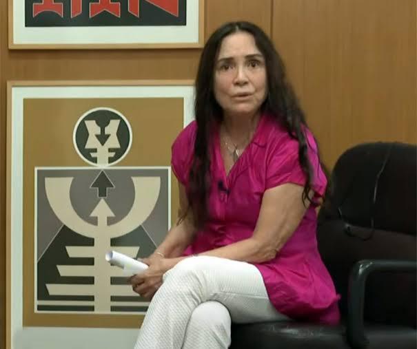 Regina Duarte na CNN