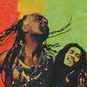Gilberto Gil e Bob Marley