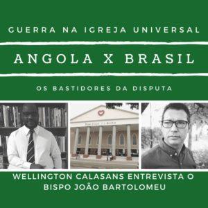 EXCLUSIVO Bispo angolano detalha briga na Igreja Universal