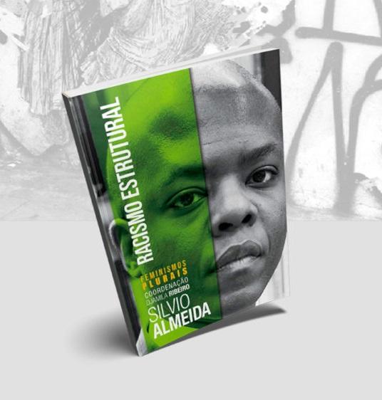 Capa do Livro Racismos Estrutural de Sílvio Almeida