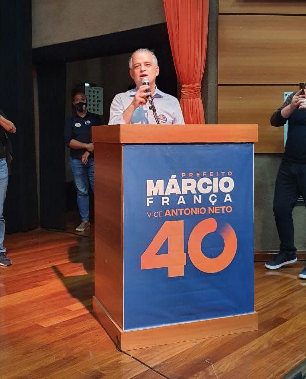 Manifesto O voto progressista e democrático em Márcio França e Antônio Neto