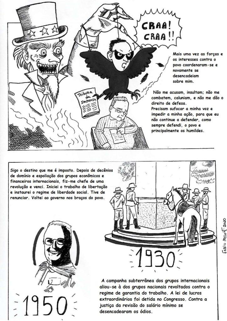 Carta Testamento em Quadrinhos