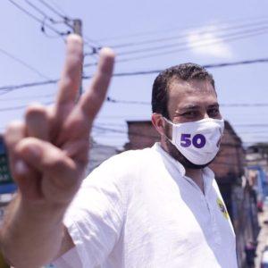 Guilherme Boulos, candidato prefeitura de São Paulo. Eleições municipais 2020