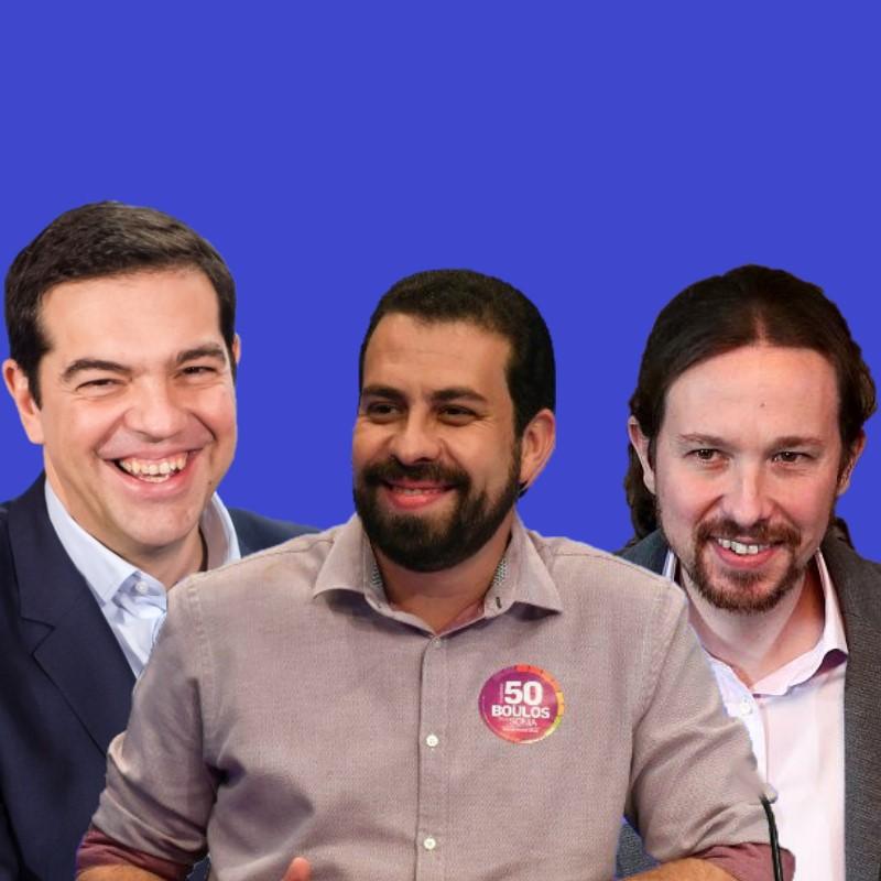 Boulos quer ser o Pablo Iglesias (Podemos) e Tsipras (Syriza) do Brasil boulos syriza populismo