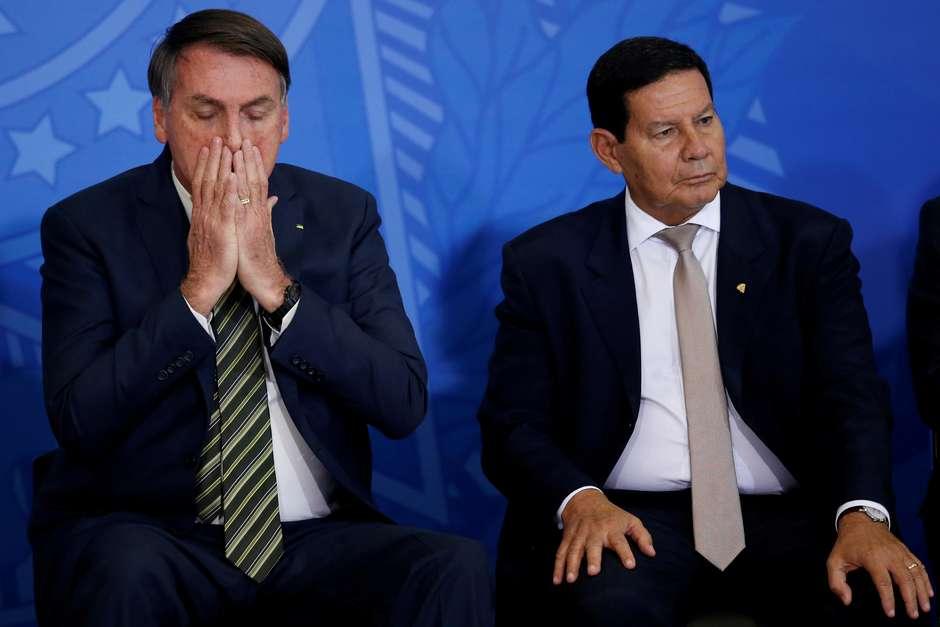 MILTON TEMER: Fora Bolsonaro e Fora Mourão!