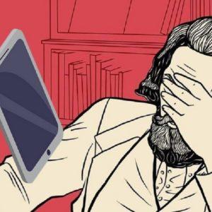 """Por Álvaro Miranda - """"Ecce Homo..."""" Somente o fone do aparelho do telefone fixo podia (e pode) estar ou não fora do gancho. Hoje, nós, seres humanos, é que estamos fora do gancho do controle de nossas próprias vidas. Eis aqui nas nossas mãos, nesse exato momento, nós que nos sentimos """"empoderados"""" por tantas tecnologias, o melhor exemplo para oferecer uma interpretação, de forma simples, sobre o que é a VALORIZAÇÃO DO VALOR."""