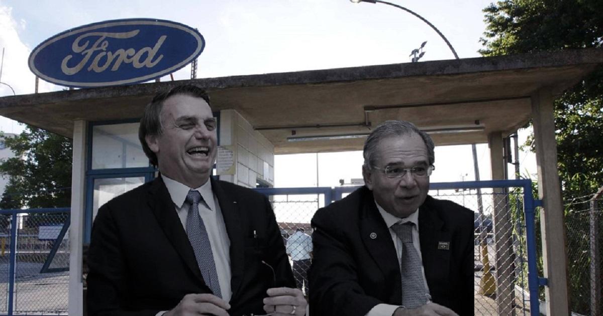Um pouco mais de um ano depois, a realidade se impõe. A Ford, que inaugurou a primeira fábrica de automóveis em nosso país, em 1919, ou seja, há mais de cem anos, anunciou que estaria fechando suas fábricas no Brasil e transferindo sua produção para a... Argentina.
