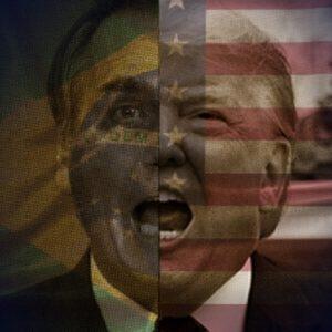 Ao sair pelas portas do fundo da Casa Branca, Donald Trump deixa o mais trágico legado ao povo americano e ao mundo; em especial, ao Brasil, onde o presidente Jair Bolsonaro e seus filhos, juntamente com seu grupo de acéfalos, praticam o mais vexatório exercício de vassalagem.