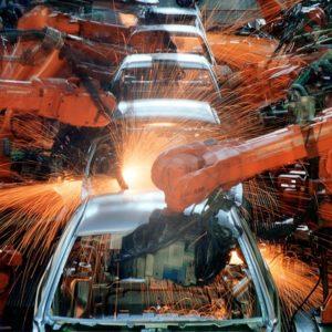 For fecha fábricas no Brasil. Linha de montagem do Ford KA na Ford Company do Brasil, em São Bernardo do Campo (SP), em junho de 2003 — Foto: Robson Fernandes/Estadão